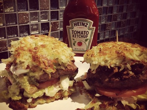 It's all kosher: These Chanukah burgers are a latke extravaganza
