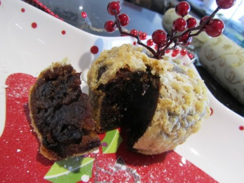Cheltenham chippy launches deep fried Christmas pudding