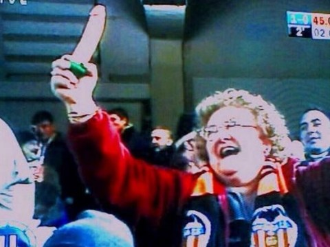 Woman takes dildo to Valencia match, waves it around when La Liga club beat Rayo Vallecano