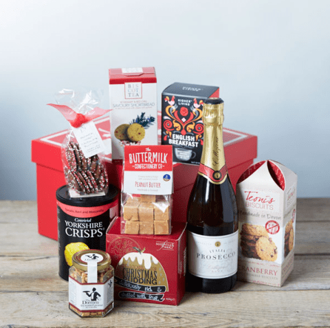 How to create your own luxury Christmas hamper on a budget