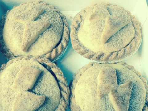 These mince pies from The Diner have actual meat in them