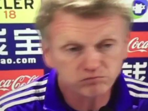 David Moyes does some incredibly cringe Spanish during Real Sociedad press conference