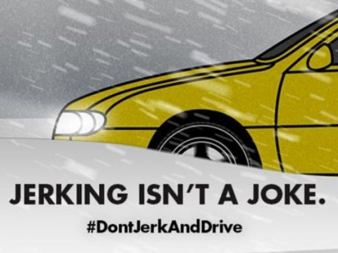 'Don't jerk and drive' campaign withdrawn