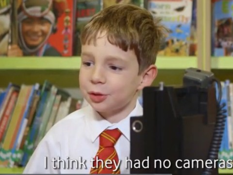 Schoolchildren are asked to describe life before mobile phones – apparently, we lived in black and white and had no TVs
