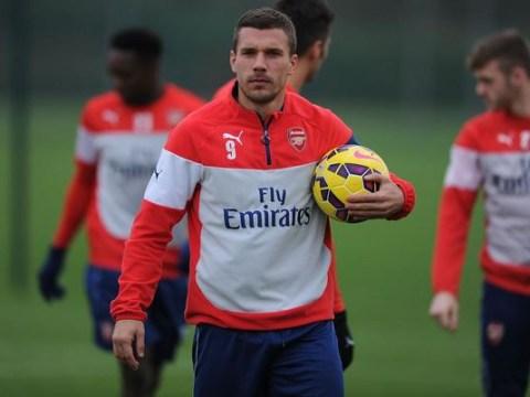 Lukas Podolski 'on verge of securing six-month loan transfer to Inter Milan'