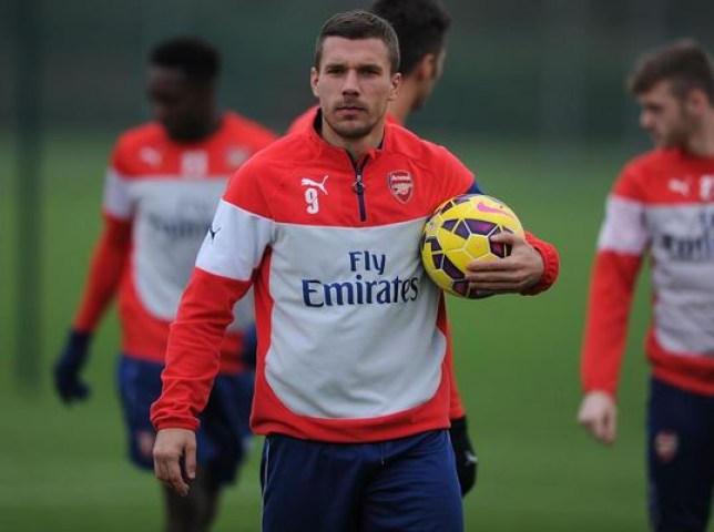 Lukas Podolski could be about to leave Arsenal in January