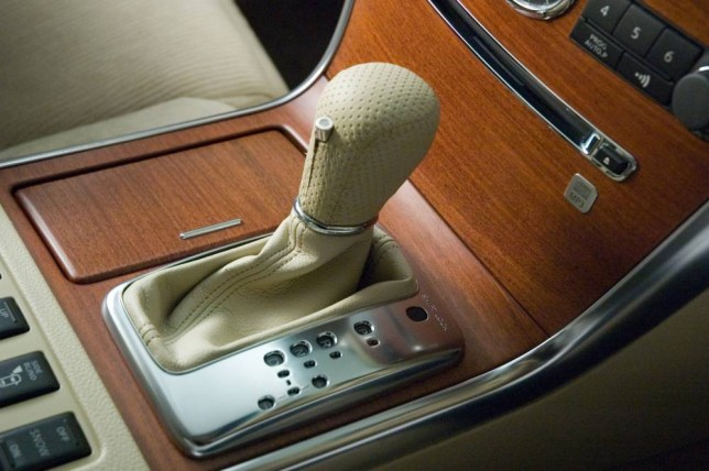 Devices developed by Nissan to prevent drivers who are too tired or have had too much to drink having an accident. Sensor in the gear stick detects alcohol in the sweat of driver's palm.   53451-a-nis.jpg