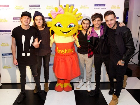 One Direction give sick children the best Christmas present ever