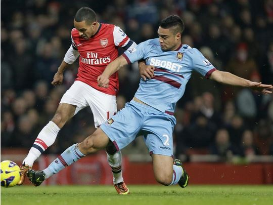 Arsenal 'preparing £4m January transfer for West Ham defender Winston Reid'