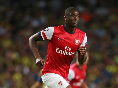 Lorient target January transfer window loan for Arsenal's Yaya Sanogo