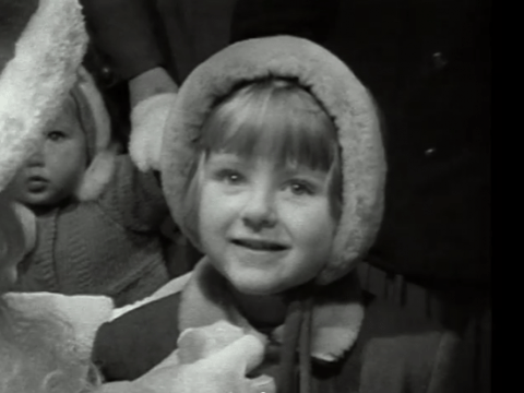 Adorable video shows 1950s kids telling Santa what they want for Christmas