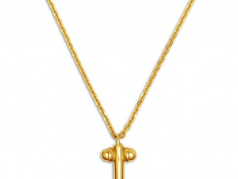 For the woman who has everything, Tom Ford is selling 18k gold penis pendant necklaces (in small, medium and large)
