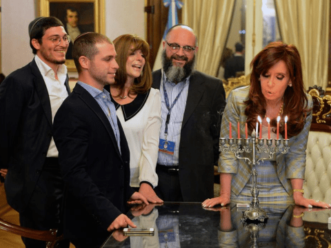 President of Argentina adopts godson to stop him from turning into a werewolf