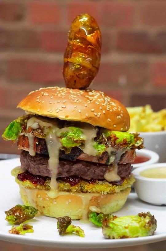 Xmas burger