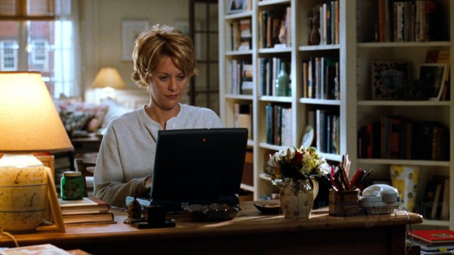 Meg Ryan in the early days of online dating in You've Got Mail