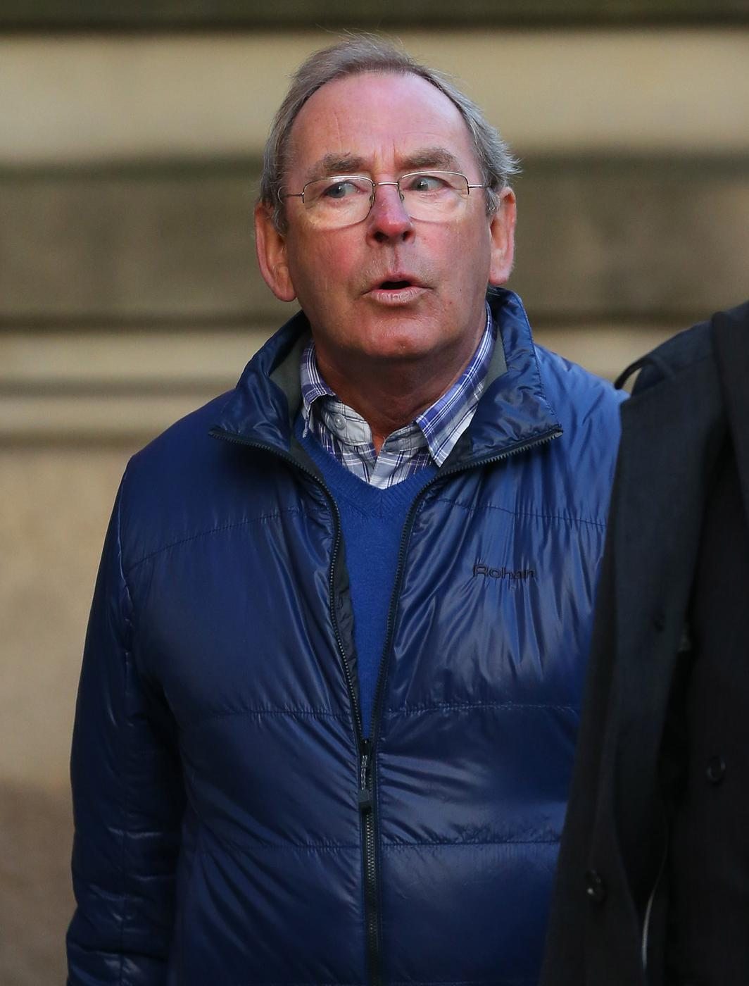 MANCHESTER, ENGLAND - JANUARY 19: Former TV weatherman Fred Talbot arrives at Manchester's Minshull Street Crown Court on January 19, 2015 in Manchester, England. Talbot is charged with nine counts of indecent assault and one further count of sexual assault. Dave Thompson/Getty Images