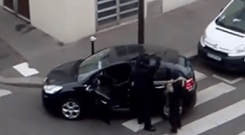 New video emerges of Charlie Hebdo attack