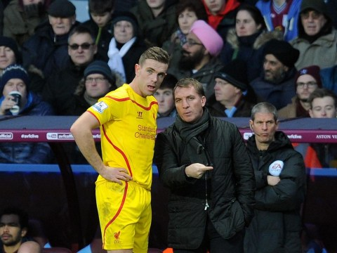 Liverpool boss Brendan Rodgers hails Jordan Henderson after Diego Costa clash