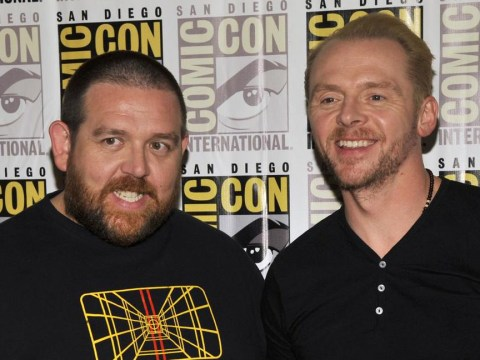 Simon Pegg and Nick Frost reunite for new project – but they're not saying what it is
