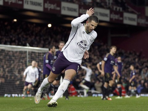 Tottenham 'to offer Everton's Aaron Lennon in exchange' for Kevin Mirallas