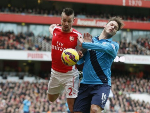 Why Arsenal's Mathieu Debuchy should tell Marko Arnautovic where to stick his meaningless apology