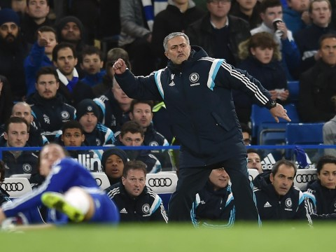 Chelsea boss Jose Mourinho missed Branislav Ivanovic's Capital One Cup winner over Liverpool – because he was too busy arguing