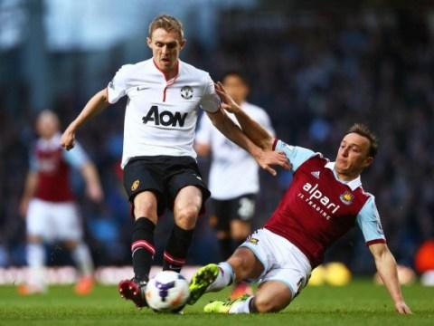 Darren Fletcher on verge of completing West Ham transfer, says Manchester United manager Louis van Gaal