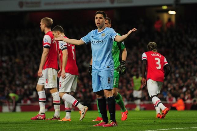 Samir Nasri says he didn't want to upset Arsenal boss Arsene Wenger for Manchester United