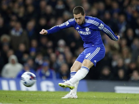 Eden Hazard can be the shining light against Manchester City for Chelsea with Diego Costa suspended and Cesc Fabregas an injury doubt