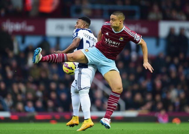 Arsene Wenger goes public about his pursuit of West Ham defender Winston Reid