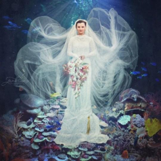 Neptune's Bride, by Jane Long (Original images: Costică Acsinte Archive/Flickr Commons)