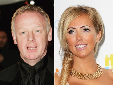 Les Dennis responds to 'horrible photo and rumour' after picture of him 'bedding Aisleyne Wallace' leaks on Twitter