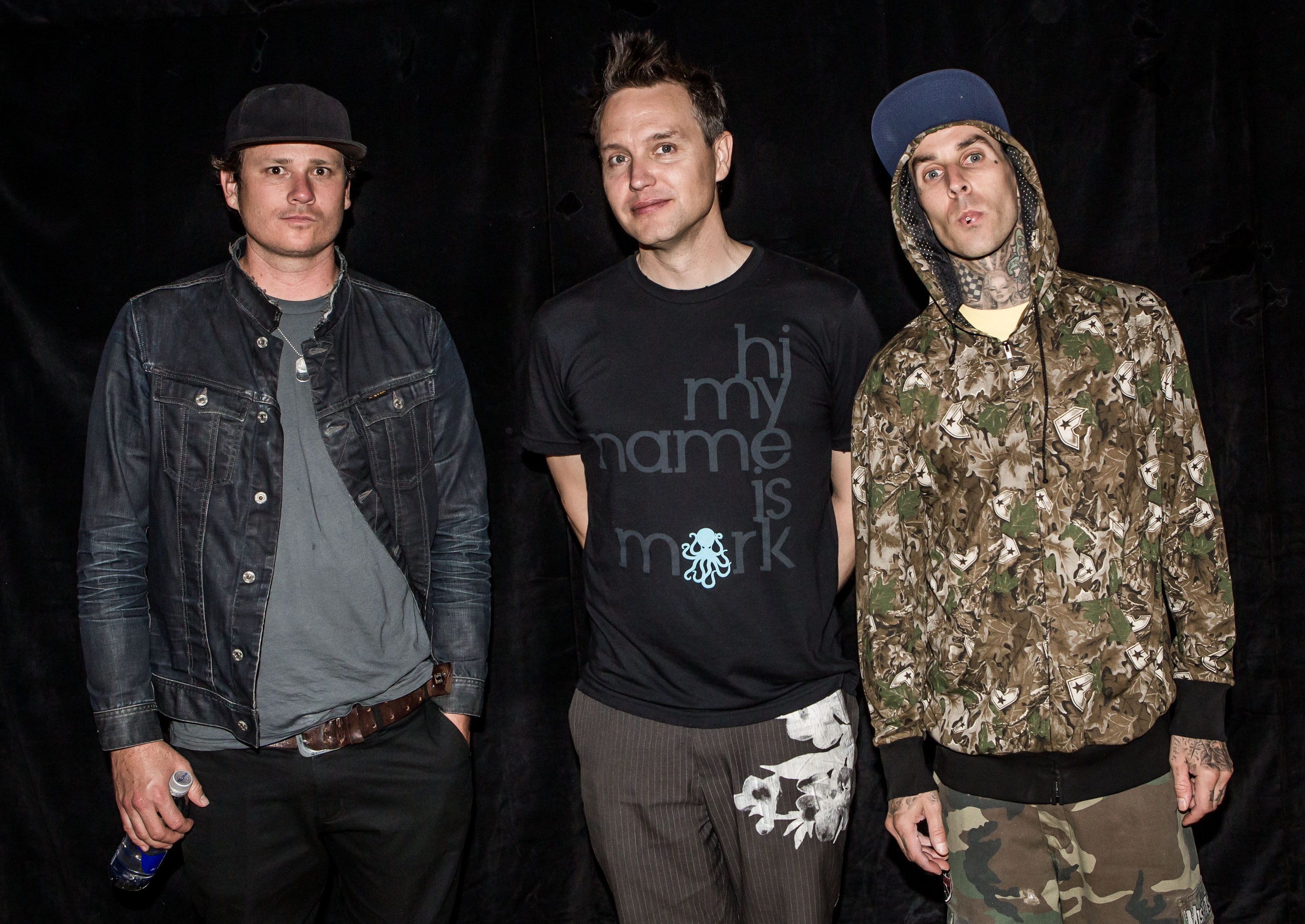 Are pop punk band Blink-182 back together and recording new music?