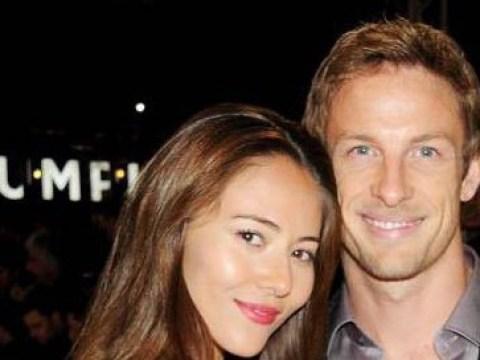 'Happy New Year from Mr & Mrs Button!': Jenson Button marries girlfriend Jessica Michibata in New Year's Eve Hawaiian wedding