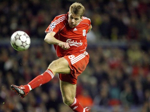 Steven Gerrard's glittering Liverpool career summed up in these pictures