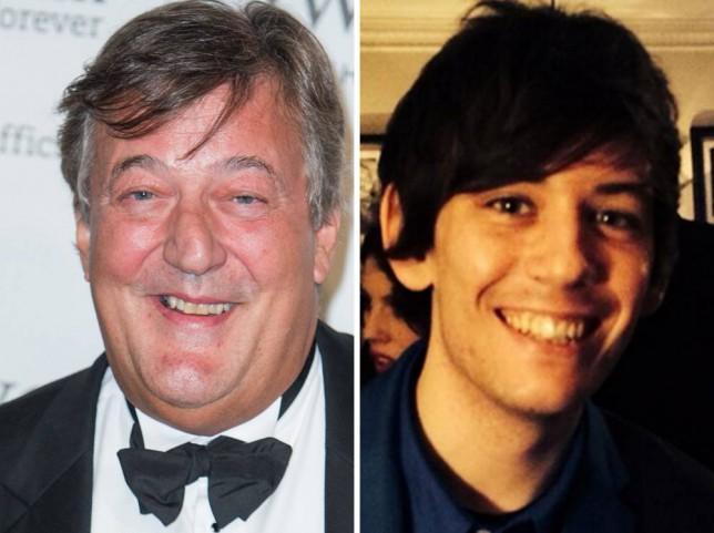 Stephen Fry and Elliott Spencer comp