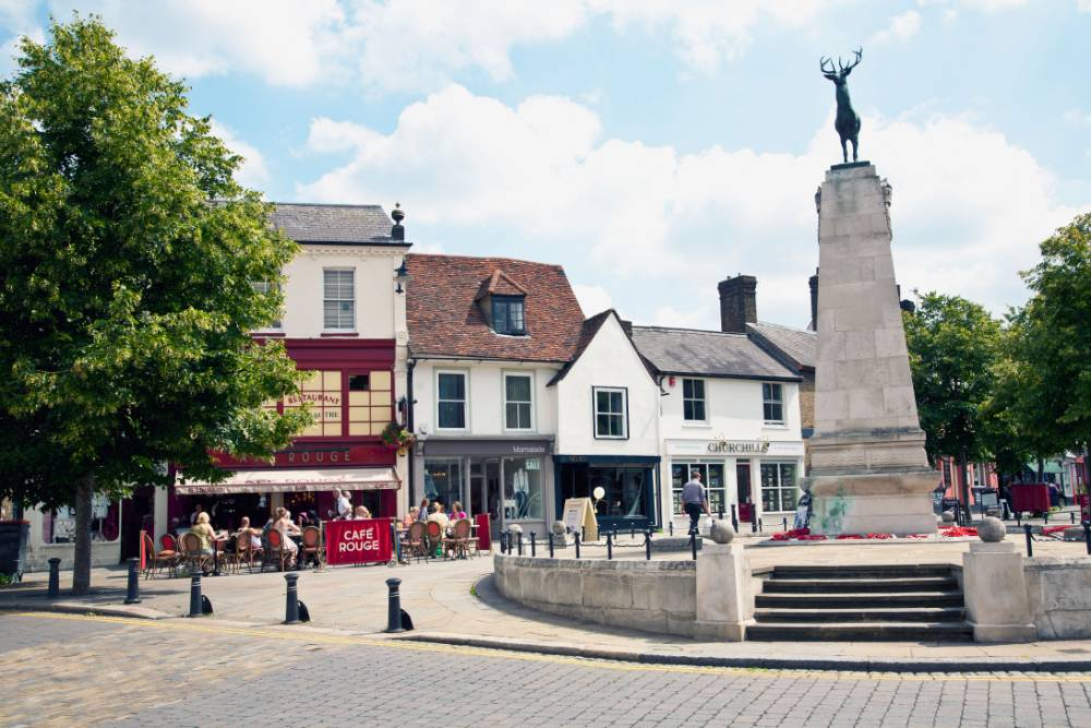 Parliament Square in Hertford (Pic: supplied)
