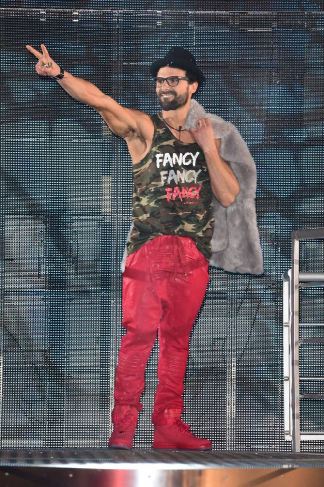 Jeremy Jackson entering the Celebrity Big Brother house at the start of the latest series of the Channel 5 programme at Elstree Studios, Borehamwood. PRESS ASSOCIATION Photo. Picture date: Wednesday January 7, 2015. Photo credit should read: Ian West/PA Wire