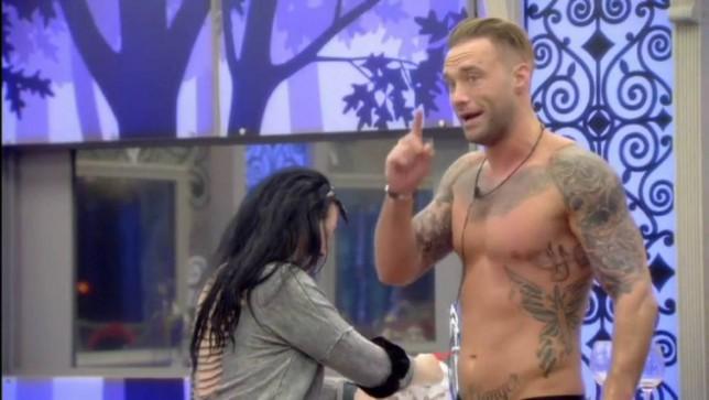 'I've got more hair on my armpit': CBB's Chloe Goodman lays into Calum Best