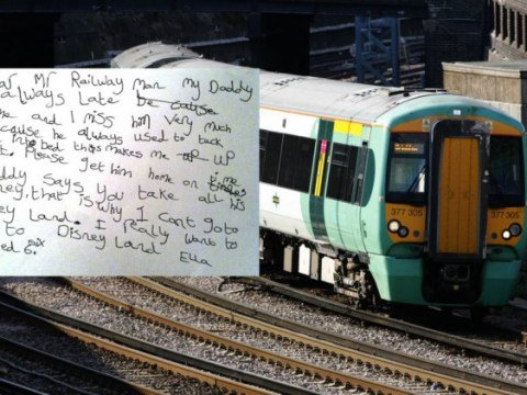 Girl, 6, writes heart-rending letter to rail network which is 'stopping daddy from tucking her in at night'
