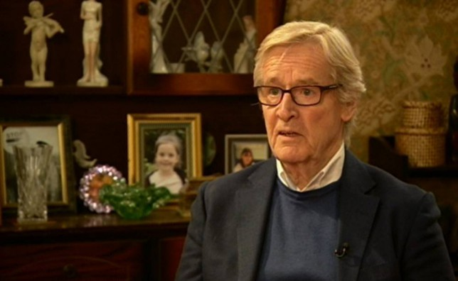 "ITV handout video still of William Roache speaking to camera following the death of  Coronation Street actress Anne Kirkbride. PRESS ASSOCIATION Photo. Issue date: Tuesday January 20, 2015. Kirkbride played the part of the ""legendary"" Deirdre Barlow, husband of Ken played by Roache, died after a short illness.  See PA story DEATH Kirkbride. Photo credit should read: ITV/PA Wire NOTE TO EDITORS: This handout photo may only be used in for editorial reporting purposes for the contemporaneous illustration of events, things or the people in the image or facts mentioned in the caption. Reuse of the picture may require further permission from the copyright holder."