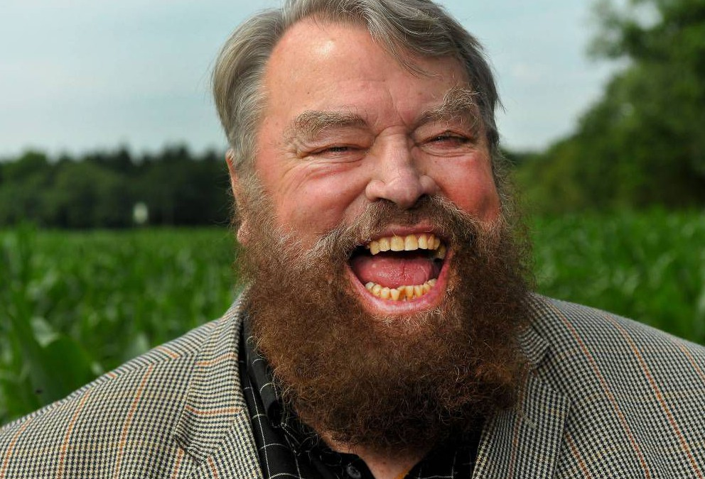 """Mandatory Credit: Photo by Dobson Agency.co.uk/REX (3923117i) Brian Blessed Yorkshire men York Maize Maze unveiled, Britain - 11 Jul 2014 A giant maize maze featuring three Yorkshire legends - cricket commentator Geoffrey Boycott, Top Gear star Jeremy Clarkson and actor Brian Blessed - has been unveiled today. Each head is over 50m in diameter and each has been carefully cut out of the 18 acre field containing over one million living maize plants. York Maze is the largest maze in Europe and one of the largest in the world. Tom Pearcy, farmer and owner of York Maze, said: """"As a proud Yorkshireman I wanted to create a design that celebrated Yorkshire. A design to welcome the Tour de France to the county was an obvious theme this year but the maze wasn t going to be ready in time so my attention turned to other ways to celebrate `God s own County""""."""
