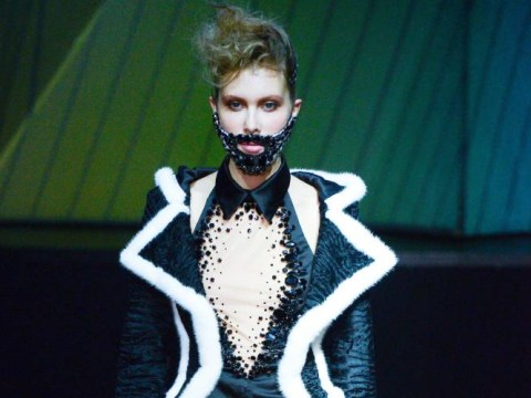 The Couture Fashion Week trend least likely to take off: Crystal beards