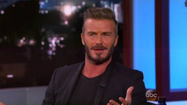 'Chubby' David Beckham is loving life as a taxi driver