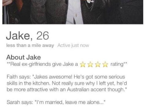 A guy asked his ex-girlfriends to review him on Tinder and his story will restore your faith in romance