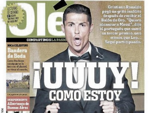 Argentine newspaper stays loyal to Lionel Messi, mocks Cristiano Ronaldo over fewer Ballon d'Or titles