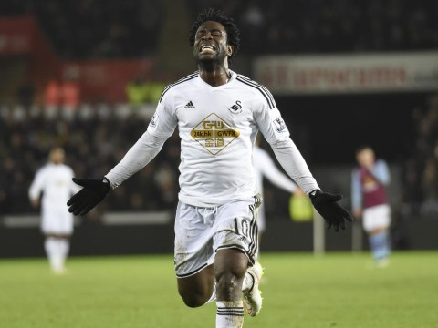 Wilfried Bony to snub Liverpool as he will only leave Swansea for Champions League football