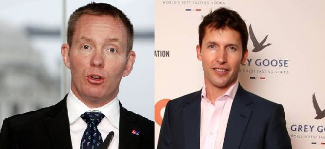 James Blunt calls MP Chris Bryant a 'gimp' and a 'prejudiced wazzock' in scathing letter after posh privilege accusations