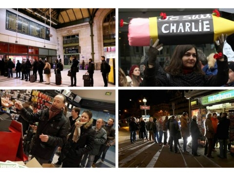 New Charlie Hebdo 'sells out' before dawn in Paris