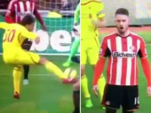Liverpool's Lazar Markovic nearly scores wonder goal, Connor Wickham gives priceless reaction